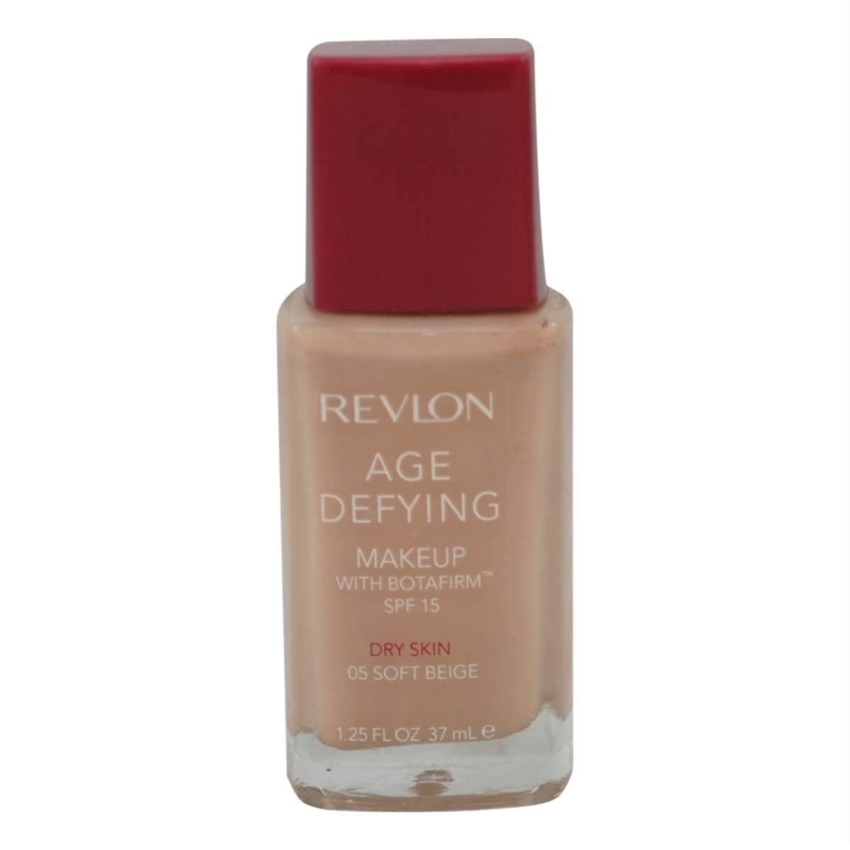 Revlon Age Defying Makeup with Botafirm, SPF 15, Dry Skin, Soft Beige 05, 1.25-Ounce