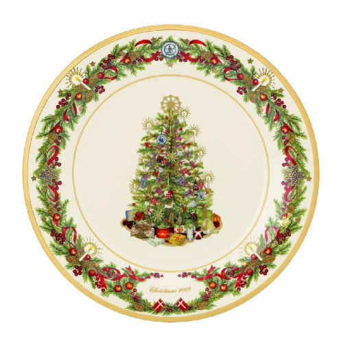 Lenox 2009 Trees Around the World Collector's Plate-Denmark