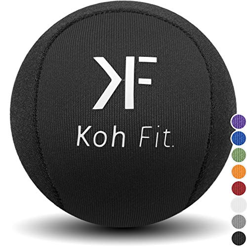 Koh Fit Stress Ball for Adults - Stress Reliever Squeeze Balls - 2 Bonus Ebooks: Hand Therapy Exercise Guide + Stress Relief Guide ()