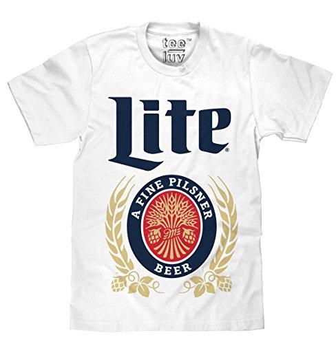 Vintage Miller Lite White T Shirt product image