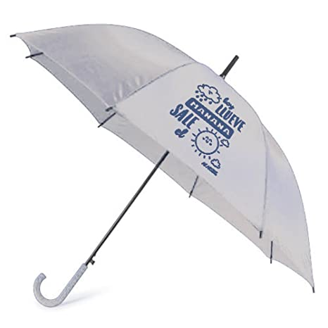 "Paraguas automatico ""Hoy llueve, mañana sale el sol"" ..."