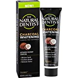The Natural Dentist Charcoal Whitening Fluoride-Free Toothpaste, Cocomint, 5 Ounce Tube (Pack of 2), Activated Coconut Charcoal Toothpaste for Naturally White Teeth, Bleach-Free Teeth Whitening