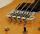 Hipshot 4 String Supertone Bass Bridge 3 Point - Chrome