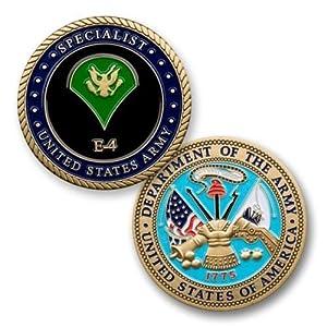 Amazon.com: Army E4 Specialist Coin: Toys & Games