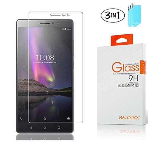 Tempered Glass For Lenovo Phab (Clear) - 5