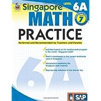 Singapore Math Practice, Level 6a Grade 7