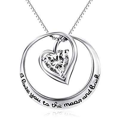 2 I Love You To The Moon And Back Pendants Charms Antiqued Silver Quote Charms Beads & Jewelry Making Fashion Jewelry