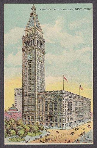 - Metropolitan Life Building New York NY postcard 1910s