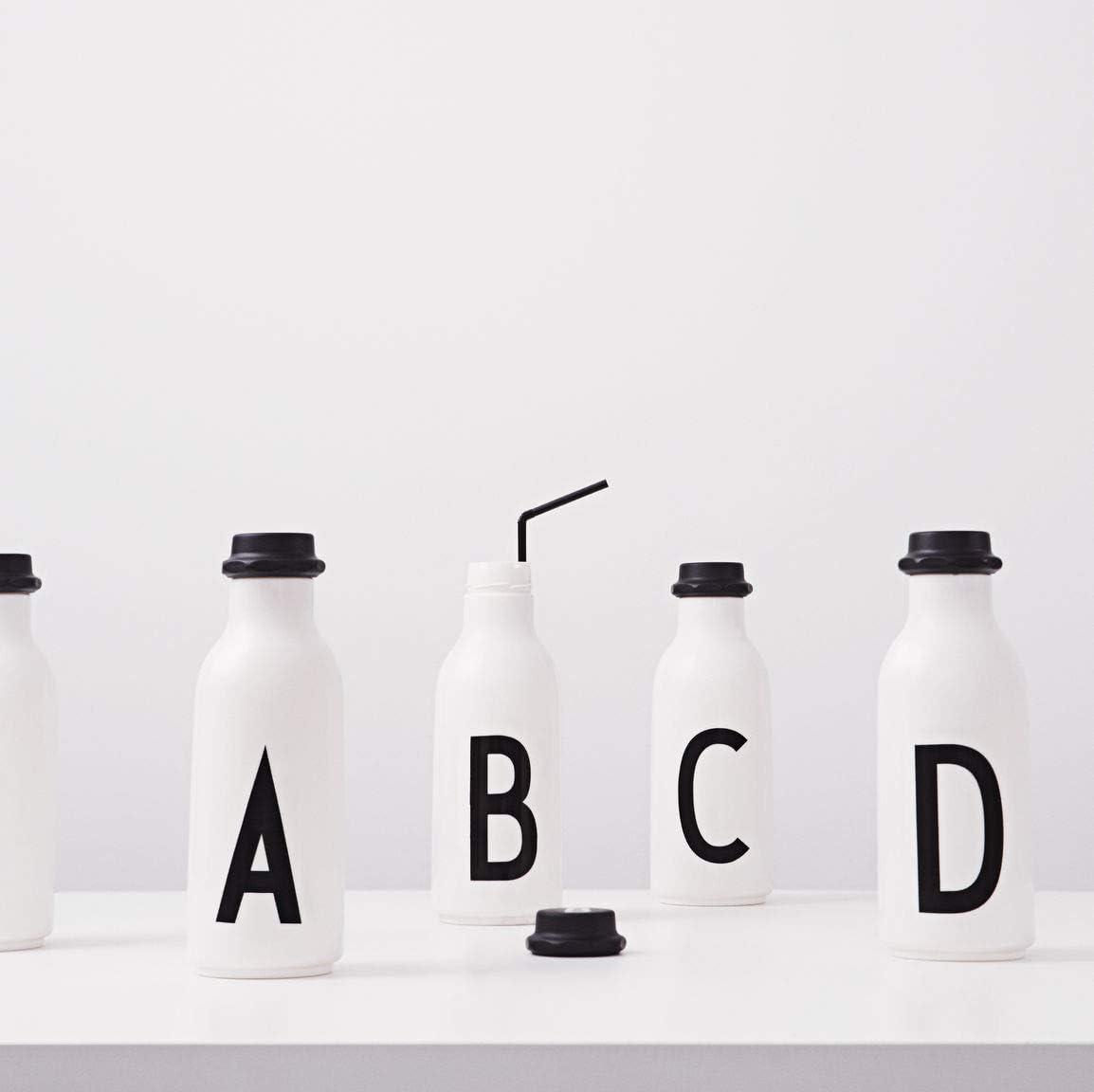 Design Letters Drinking Melamine Personal Initial Alphabet Bottle P