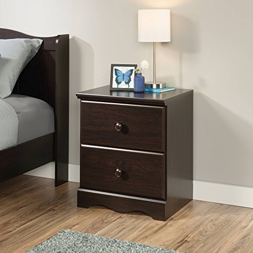 Sauder Storybook Night Stand, Jamocha Wood - Hampton South Glasses