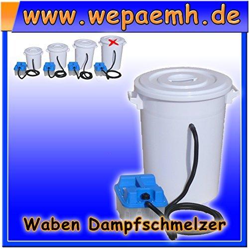 Dampfwachsschmelzer mit 100 Liter Dampferzeuger Wachsschmelzer Wachs Kreislauf