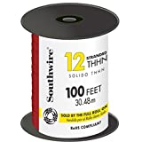 Southwire Thhn Wire Thhn 12 Ga 600 V 100 ' Red by Southwire