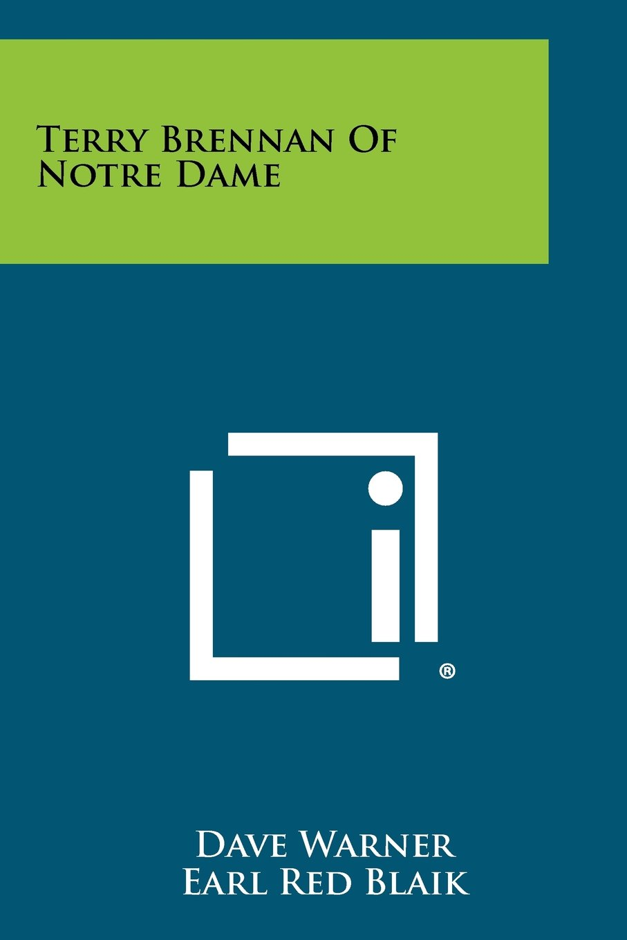 Download Terry Brennan of Notre Dame pdf
