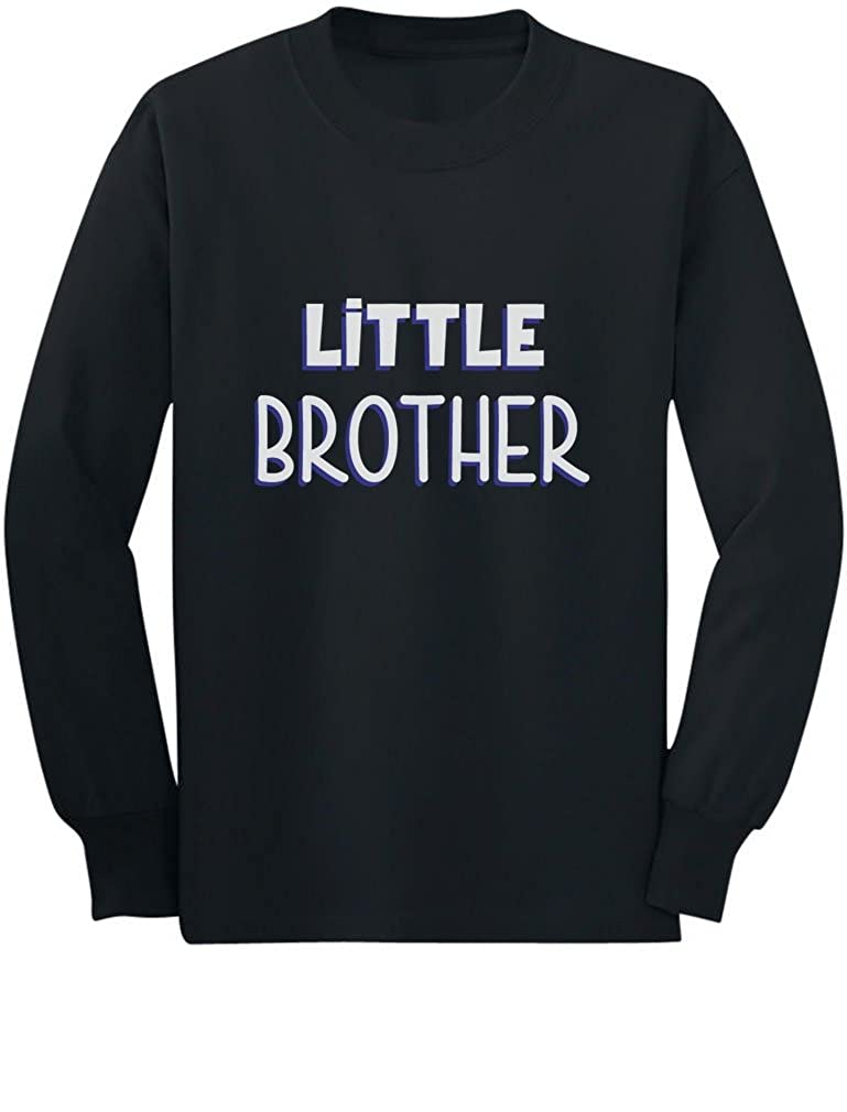 Little Brother Gift for Siblings New Brother Toddler/Kids Long sleeve T-Shirt GhPhZ0agC5