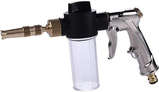 AFGH Pistola Manguera Jardin Pistola de Lavado de Coches máquina automática de Espuma de Agua Pistola de Limpieza Lavadora de Alta presión Coche hogar jardín Lavado Pistola de Espuma Pistola Pistola: Amazon.es: