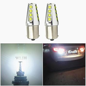 1x Fiat Sedici Ultra Bright White 24-LED Reverse Light Lamp High Power Bulb