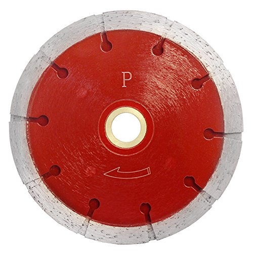 Premium 5'' x .375'' Sandwhich Diamond TRIPLE Blade 10mm Tuckpoint Cutter Saw
