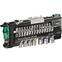 Wera 056491 Tool-Check Plus Bit Ratchet Set with Sockets - Imperial by Wera