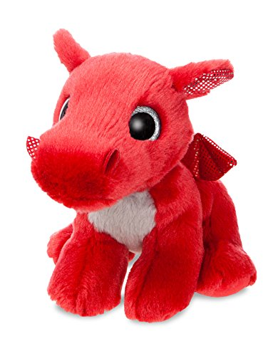 Amazon.com: Aurora World 60862 Sparkle Tales Flame Dragon Peluche, Rouge, 17,8 cm: Kitchen & Dining