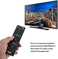 Mando a distancia universal de repuesto para Sony Smart TV RM-ED054, 4 K TV Mando a distancia para Sony RM-ED054 LCD LED TV: Amazon.es: Electrónica