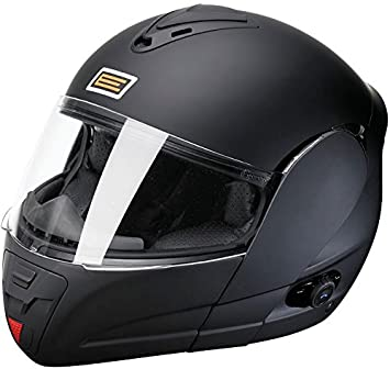 Amazon.es: Origine Helmets Techno Flip-Up Casco Moto, Negro Mate, L