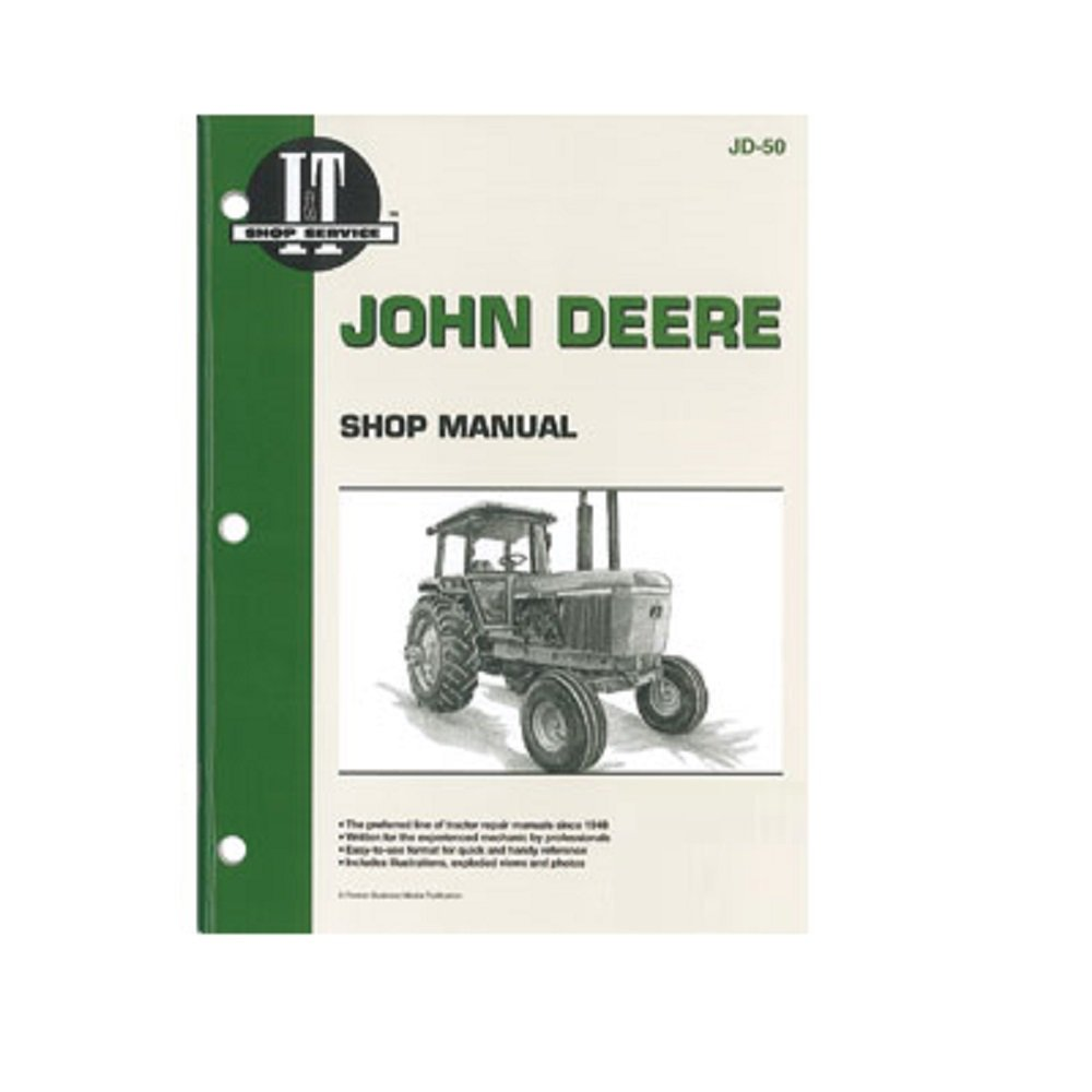 Amazon.com: SMJD50 New Shop Manual For John Deere Tractor 4030 4230 4430  4630: Industrial & Scientific