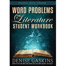 Word Problems from Literature: Student Workbook (Playful Math Singles)