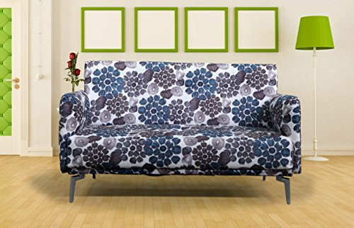 Container Furniture Direct Emma Collection Modern Contemporary Floral Print Fabric Upholstered