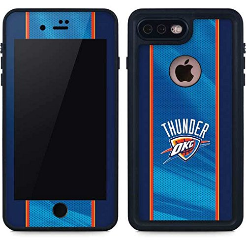 Oklahoma City Thunder iPhone 7 Plus Case - Oklahoma City Thunder Blue Jersey | NBA X Skinit Waterproof Case