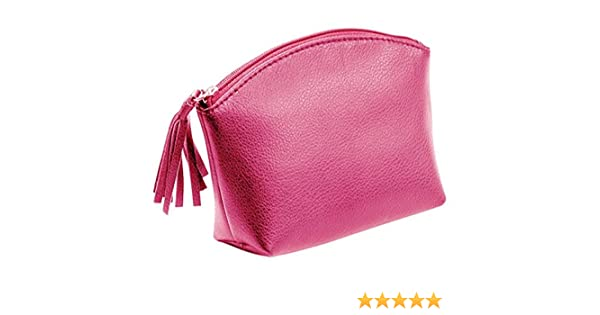 /and Leather Zip Handbag Holder 16/cm Alassio Genuine Leather Toiletry Bag/ approx 15.5/x 11/x 5.5/cm green