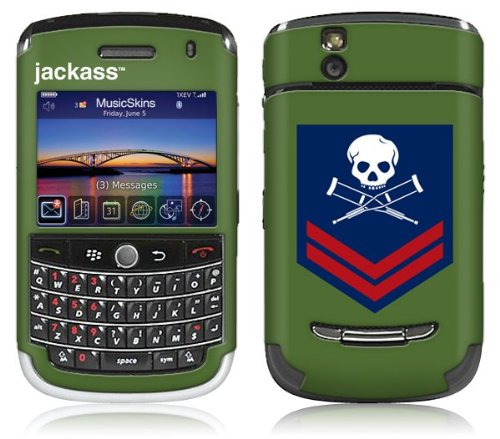 MusicSkins, MS-JKAS20033, Jackass - Military Patch, BlackBerry Tour (9630), ()