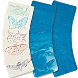 Roylco R-5803BN Rubbing Plates True Insects Grade Kindergarten to 1, 2.26'' Height, 9.5'' Wide, 6'' Length (Pack of 32)