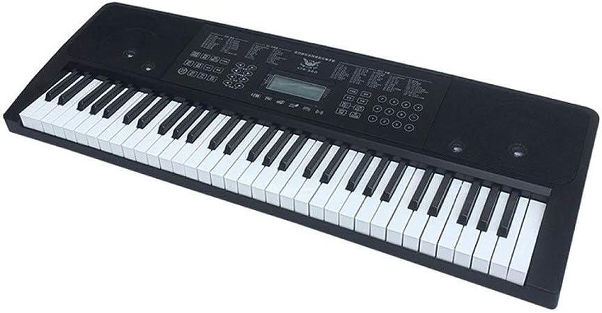 Juguete for piano electrónico, teclado de 61 teclas con ...