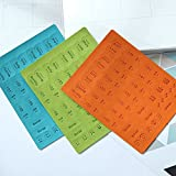 6 Sheets Self Adhesive Tabs, Mini DIY Leather