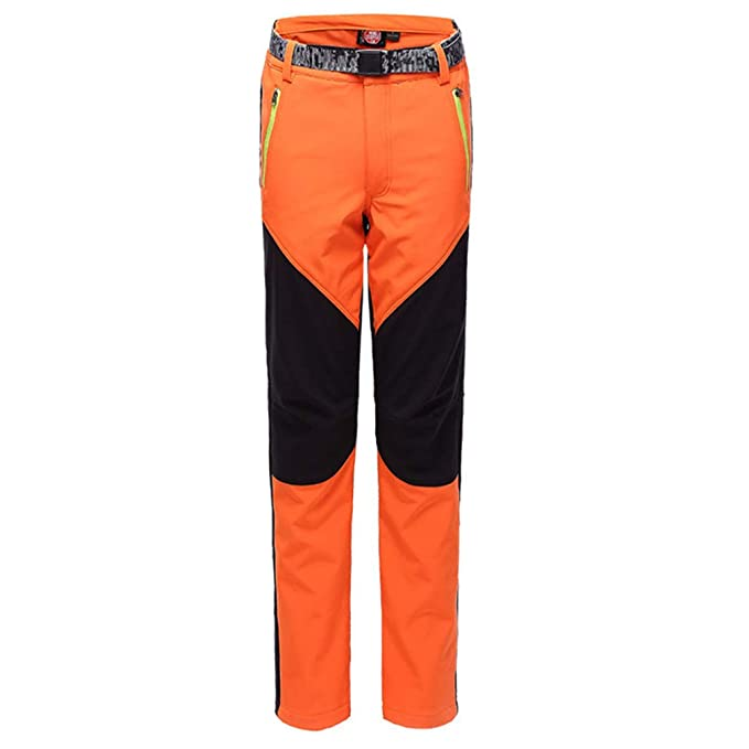 Mujer Hombres Hibote Pantalones Shell Senderismo Fleece Soft 2DHY9bWIeE