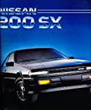 1985 Nissan 200sx 200-sx 200 Original Sales Brochure - Turbo