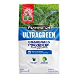 Pennington 100536604 UltraGreen Crabgrass Preventer Plus Lawn Fertilizer, 12.5 LBS, Covers 5000 Sq Ft