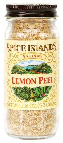 Spice Islands Lemon Peel, 1.8 Ounce