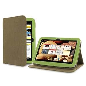 "Cover-Up - Funda con función atril para tablet Lenovo IdeaTab A2109 de 9"" (cáñamo), color verde"