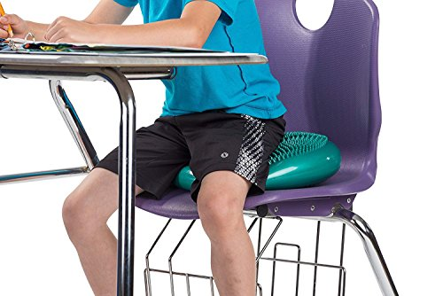 bintiva Inflated Stability Wobble Cushion, Including Free Pump/Exercise Fitness Core Balance Disc by bintiva (Image #3)