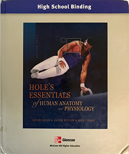 Hole's Essentials of Human Anatomy And Physiology -  Shier, David N., Hardcover