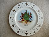 Lenox Fine China Mickey & Co Annual Limited Edition Pierced Holiday Dinner Plate