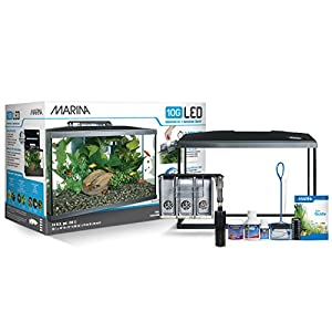 Marina LED aquarium kit, 10 gallons