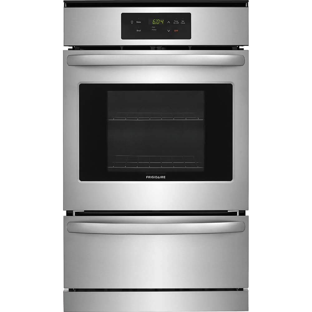 Frigidaire FFGW2416US 24 Inch 3.3 cu. ft. Total Capacity Gas Single Wall Oven in Stainless Steel by FRIGIDAIRE
