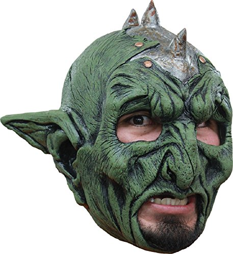 Morris Costumes Halloween Party Cosplay Orc Chinless Latex Mask