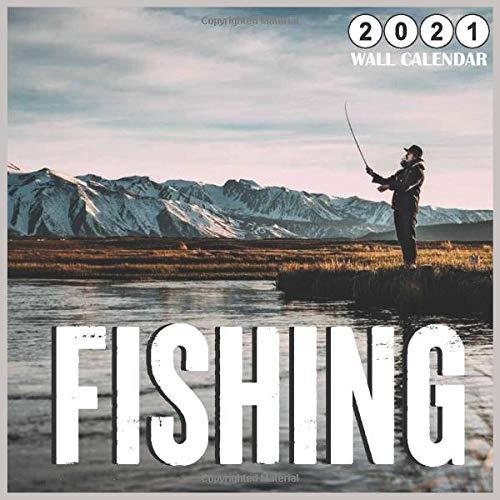 Fishing Calendar 2021 Fishing 2021 Wall Calendar: 18 Months, Catch fish Calendar 2021