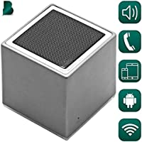 Bluetooth True Wireless Portable Speaker & Receiver | Can Be Paired | HD Crystal Clear Stereo, Noise Canceling, Balanced Bass | iPhone & Android Compatible, Powerful Built-In Battery & Mic