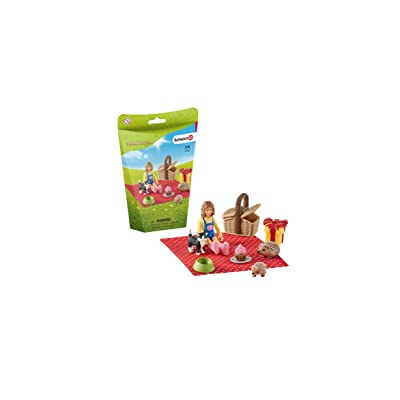 SCHLEICH Birthday Picnic Play Set: Schleich: Toys & Games