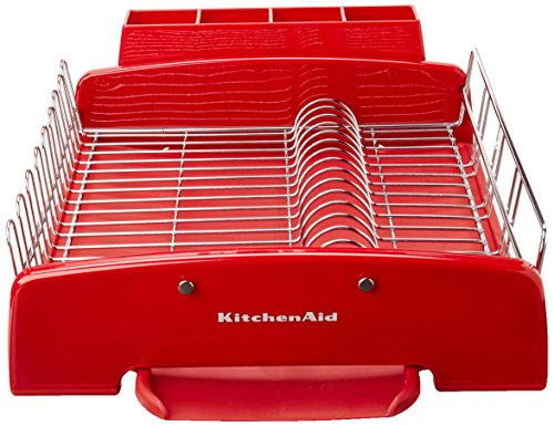 Kitchenaid 3 piece dish drying rack home garden dining tools utensils racks drain boards - Kitchenaid dish rack red ...
