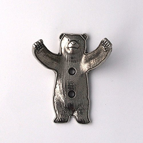 - Pewter Bear Wall Hook
